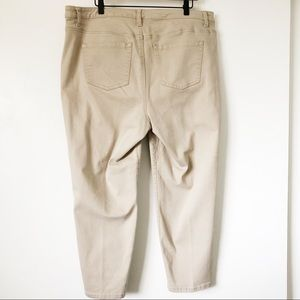 Lane Bryant Pants - Lane Bryant Khahi Ankle Stretch Pants Sz 20